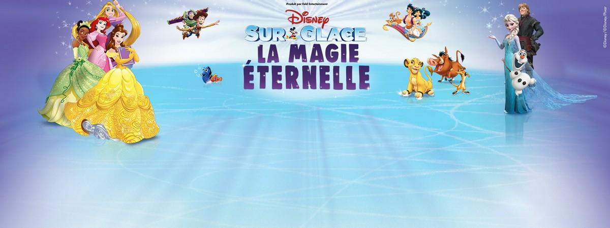 Le spectacle Disney sur glace à Nantes en décembre 2019