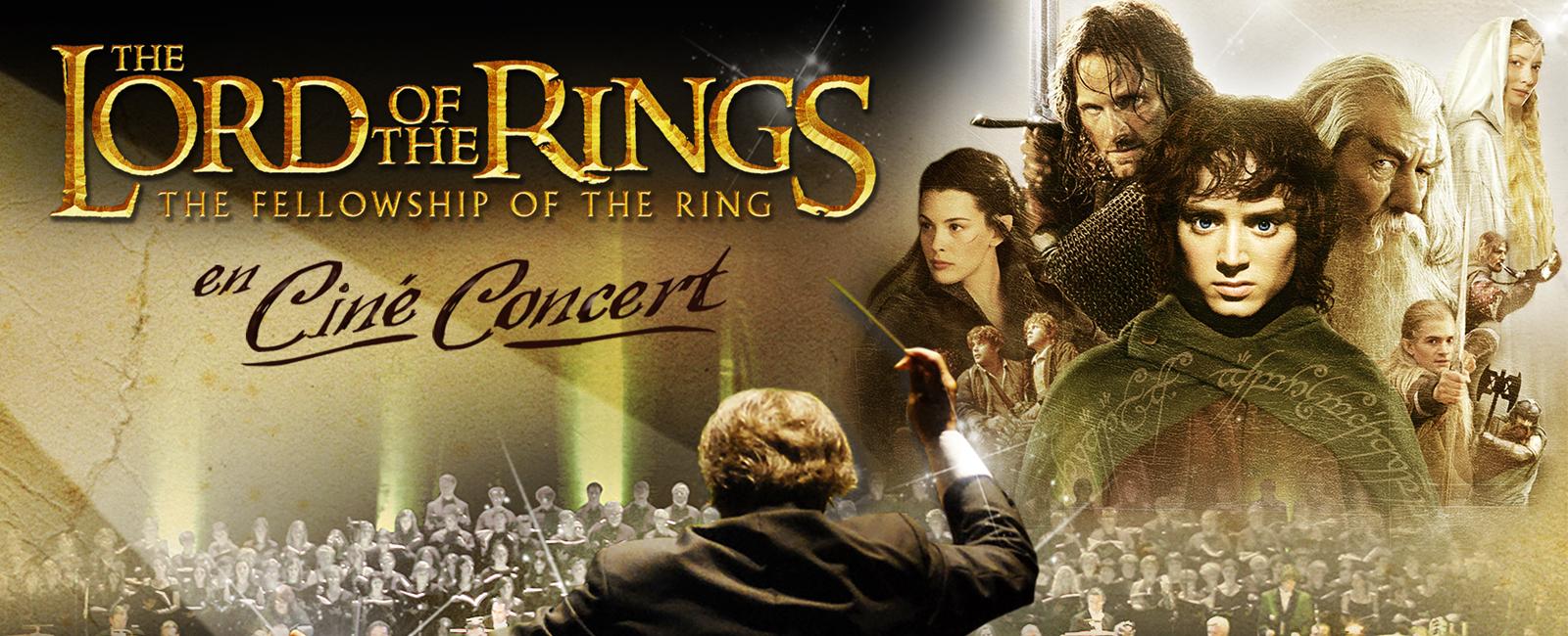 Le ciné concert du seigneur des anneaux à Nantes
